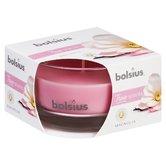 Bolsius-True-Scents-6-Stuks-Geurkaars-in-Glas-Magnolia-5cm-Roze