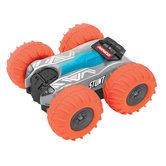 Ninco-RC-Stunt-Auto-13x12.5x6-cm-Grijs-Oranje