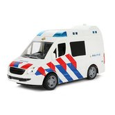 Toi-Toys-Cars-&-Trucks-Politiebus-+-Licht-en-Geluid