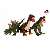 Pluche-Dino-Knuffel-met-Plastic-Tanden-Assorti