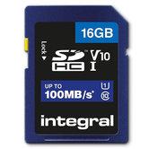 Integral-Sdhc-V10-100mb-s-16gb