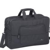 RivaCase-Laptop-Schoudertas-17-Inch-Extra-vak-voor-10.1-Inch-tablet-Zwart