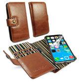 Alston-Craig-magnetische-portemonnee-stijl-case-voor-iPhone-XR-met-RFID-bruin