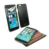 Alston-Craig-Slim-Shell-Klassiek-Origineel-Leren-Hoesje-Voor-Apple-iPhone-6-6s-Zwart