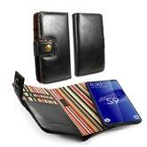 Alston-Craig-Leren-Portemonnee-Hoesje-Samsung-Galaxy-S9-Plus-RFID-Blocking-met-Screenprotect
