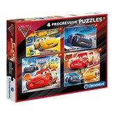 Clementoni-4-Disney-Cars-Puzzels-20-60-100-180-Stukjes