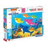 Clementoni-Supercolor-Puzzel-Baby-Shark-104-Stukjes