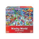 Goliath-Wacky-World-Puzzel-Outerspace-1000-Stukjes
