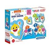 Clementoni-Supercolor-Puzzel-Baby-Shark-3-12-Stukjes