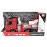 Brandweer-Ladderwagen-Frictie-1:14