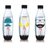 Sodastream-Hipster-Fuse-Flessen-1L-3-Stuks
