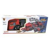 Brandweer-Garage-in-Truck-Speelset-+-Licht-en-Geluid