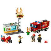 Lego-City-60214-Brand-bij-het-Hamburgerrestaurant