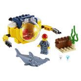 Lego-City-60263-Mini-Duikboot