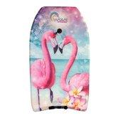 Wave-Breakers-Bodyboard-met-Flamingo-Print-83-cm