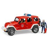 Bruder-2528-Wrangler-Rubicon-Brandweer-Jeep-+-Figuur