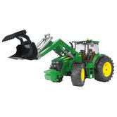 Bruder-3051-Tractor-John-Deere-7930-Met-Frontlader