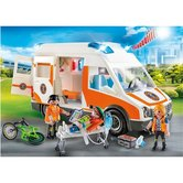 Playmobil-70049-City-Life-Ambulance-met-Licht-en-Geluid