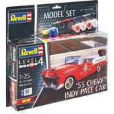 Revell-Level-4-Modelset-55-Chevy-Indy-Pace-Car