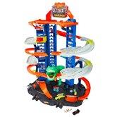 Hot-Wheels-City-Robo-Beasts-Ultieme-Garage-met-T-Rex-+-2-Autos