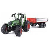 Bruder-2104-Tractor-Fendt-209-Met-Aanhanger