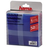 Hama-CD-DVD-Paper-Sleeves-50-pack-Multicolor