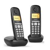 Gigaset-AL380-Duo-DECT-Telefoon-Zwart