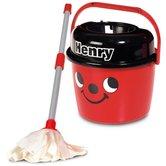 Numatic-Little-Helper-Little-Henry-Mop-en-Emmer-Rood