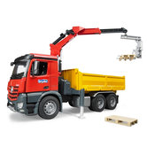 Bruder-3651-Vrachtwagen-MB-Arocs-Met-Kraan